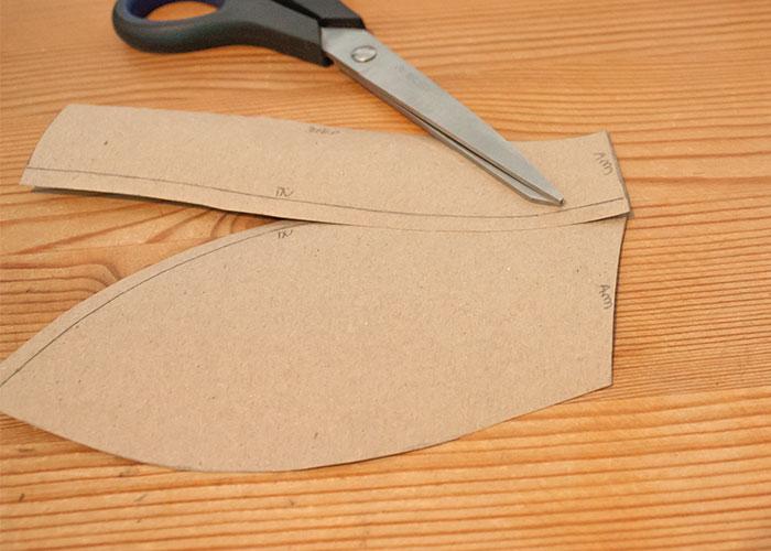 push up innentasche papierschnitt verlauf kontrollieren