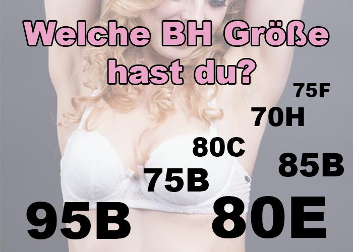 BH Größe ermitteln – Das 1×1 der BH Größen