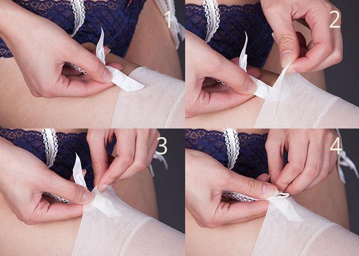 strapsgürtel, strapse, velvet