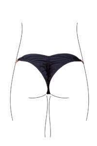 bikinihose butterfly scrunch