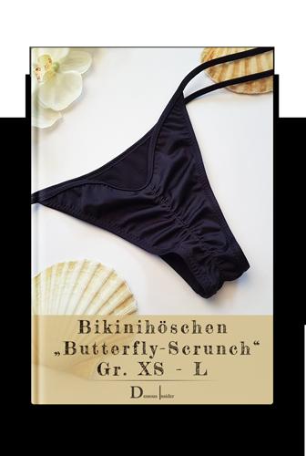 ebook Nähanleitung Bikinihose nähen mit Butterfly-Scrunch Effekt